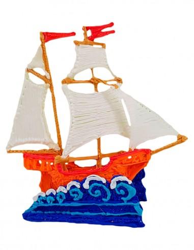 Кораблик (Бесплатный трафарет для...