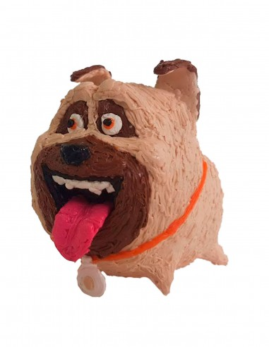 Pug Mel of the Secret Life of Pets (Free Template For a 3D Pen)