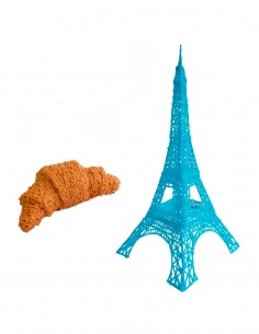 The Eiffel Tower (Free Template For a 3D Pen)
