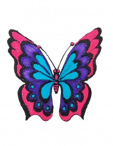Бабочка №5 (Бесплатный трафарет для 3D-ручки)