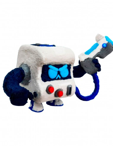 8-Bit from Brawl Stars (Free Template For a 3D Pen)
