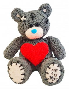 Teddy Bear (Free Template For a 3D Pen)