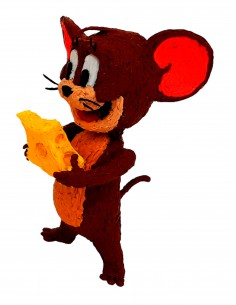Jerry from Tom & Jerry (Free Template For a 3D Pen)