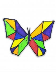 Бабочка №6 (Бесплатный трафарет для 3D-ручки)