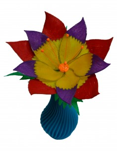 Decorated Flower (Free Template For a 3D Pen)