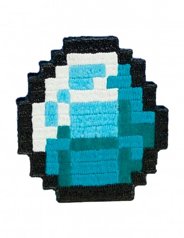 Minecraft Diamond (Free Template For a 3D Pen)