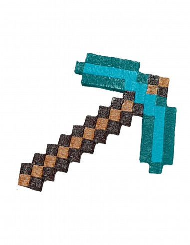 Minecraft Pickaxe(Free Template For a 3D Pen)