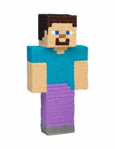 Minecraft Steve (Free Template For a 3D Pen)
