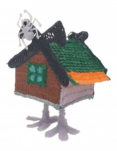 House with chicken legs (Free Template For a 3D Pen)