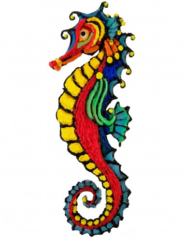 Seahorse (Free Template For a 3D Pen)