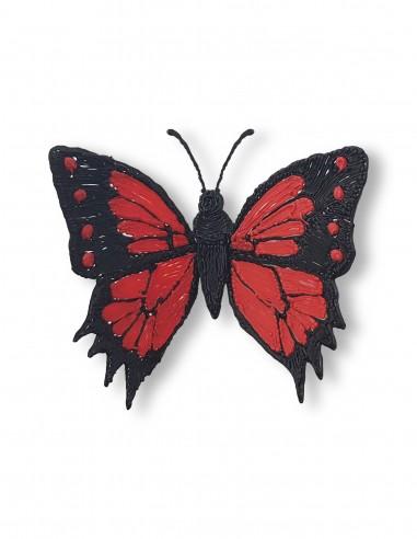 Бабочка №8 (Бесплатный трафарет для 3D-ручки)