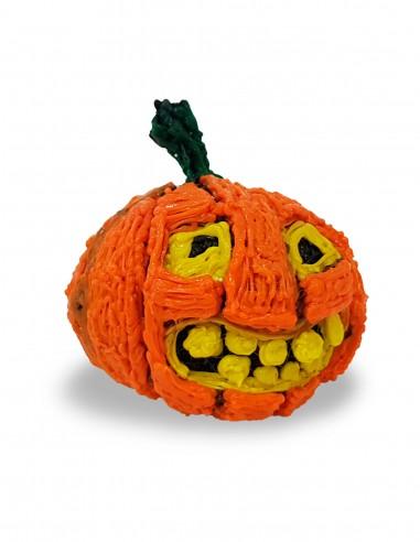 Тыква на Хэллоуин (Бесплатный трафарет для 3D-ручки)