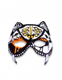 Halloween Tiger Mask (Free Template For a 3D Pen)