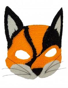 Маска кошки (Бесплатный трафарет для 3D-ручки)