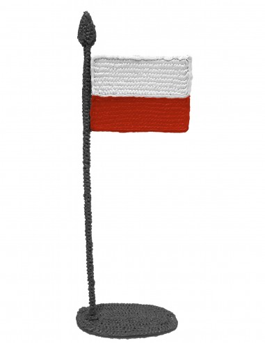 Flag of Poland (Free Template For a 3D Pen)