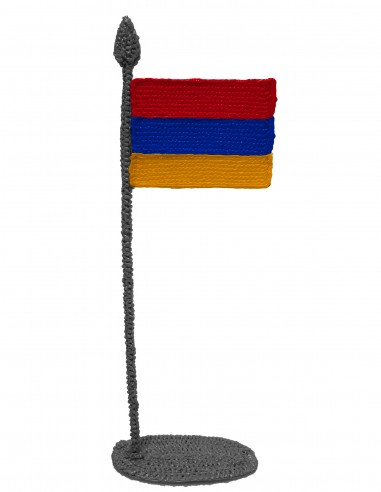 Flag of Armenia (Free Template For a 3D Pen)