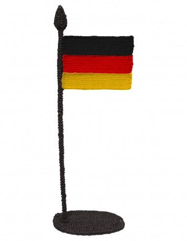 Flag of Germany (Free Template For a 3D Pen)