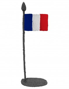 Flag of France (Free Template For a 3D Pen)