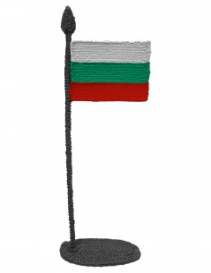 Flag of Bulgaria (Free Template For a 3D Pen)