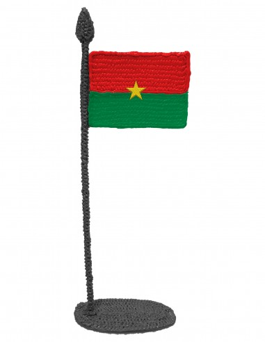 Flag of Burkina Faso (Free Template For a 3D Pen)