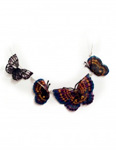 Butterfly Necklace №1 (Free Template For a 3D Pen)