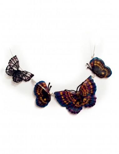 Ожерелье-Бабочка №1 (Бесплатный трафарет для 3D-ручки)