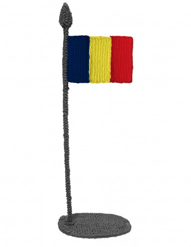 Flag of Chad (Free Template For a 3D Pen)