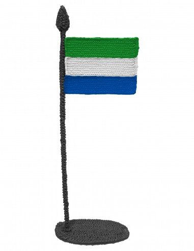 Flag of Sierra Leone (Free Template For a 3D Pen)