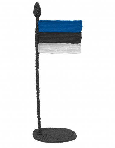 Flag of Estonia (Free Template For a 3D Pen)