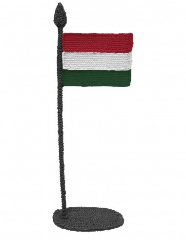 Flag of Hungary (Free Template For a 3D Pen)