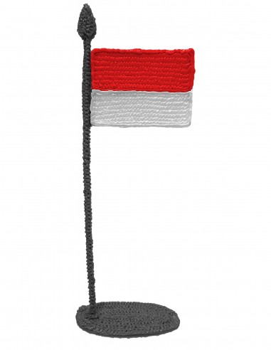 Flag of Indonesia (Free Template For a 3D Pen)