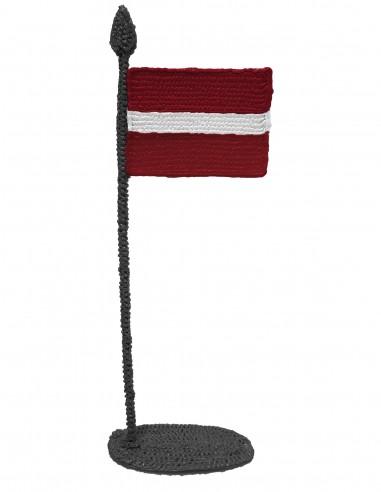 Флаг Латвии (трафарет для 3D-ручки)