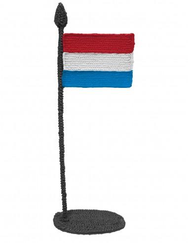 Флаг Люксембурга (трафарет для 3D-ручки)