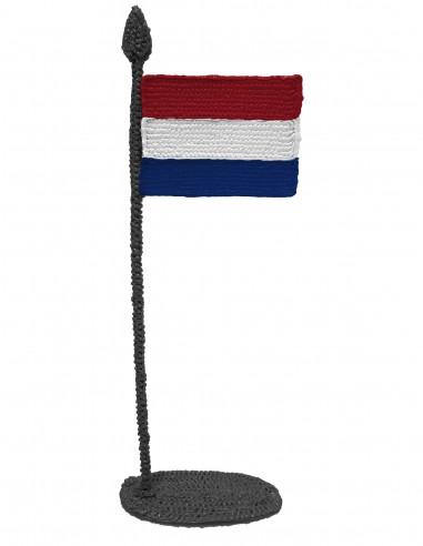 Флаг Королевства Нидерландов (трафарет для 3D-ручки)
