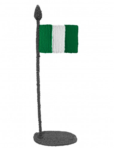 Flag of Nigeria (Free Template For a 3D Pen)
