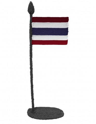 Флаг Тайланда (трафарет для 3D-ручки)