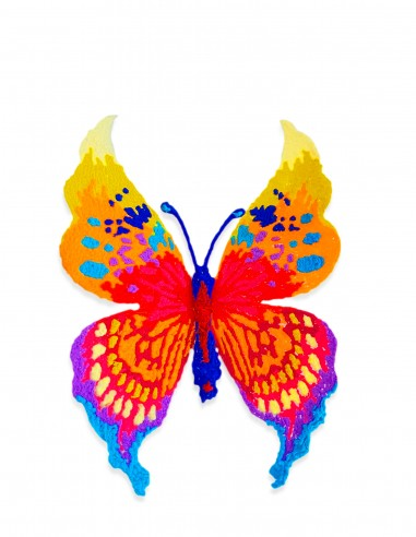 Butterfly #1 (Free Template For a 3D Pen)
