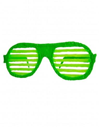Очки №6 - Диско (Бесплатный трафарет для 3D-ручки)