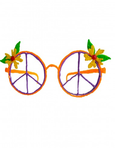 Glasses №9 - Hippie (Free Template For a 3D Pen)