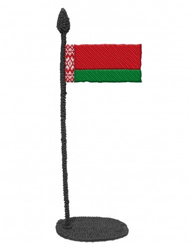 Flag of Belarus (Free Template For a 3D Pen)