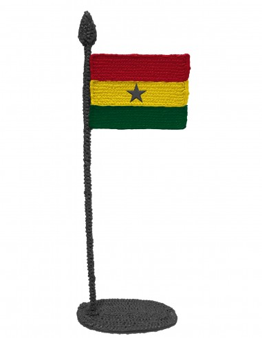 Flag of Ghana (Free Template For a 3D Pen)