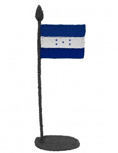Флаг Гондураса (трафарет для 3D-ручки)