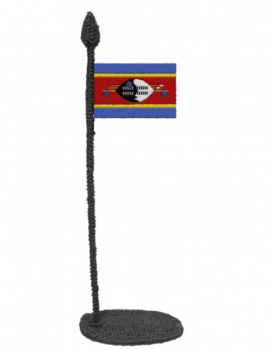 Flag of Eswatini (Free Template For a 3D Pen)