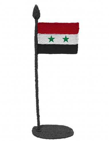 Flag of Syria (Free Template For a 3D Pen)
