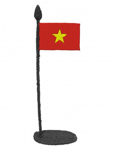 Flag of Vietnam (Free Template For a...