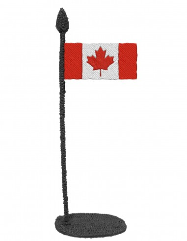 Flag of Canada (Free Template For a 3D Pen)