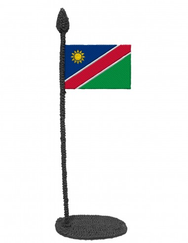 Flag of Namibia (Free Template For a 3D Pen)