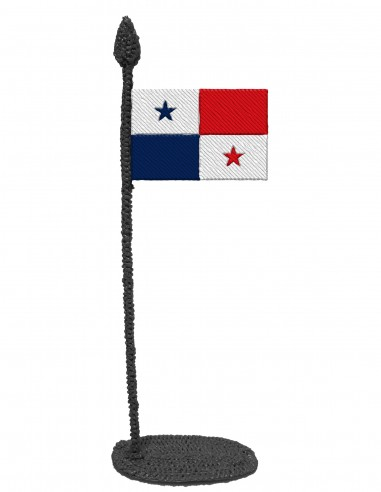 Flag of Panama (Free Template For a 3D Pen)