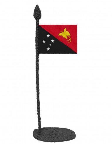 Flag of Papua New Guinea (Free...