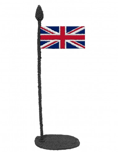 Flag of The United Kingdom (Free Template For a 3D Pen)